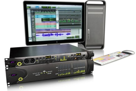 Official launch Protools HD Native system