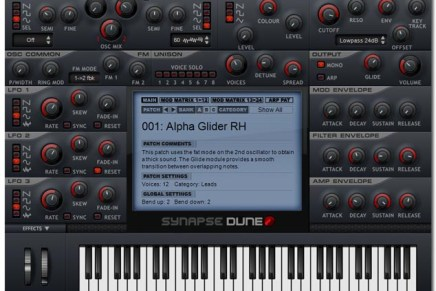 Synapse Audio releases new flagship synth DUNE