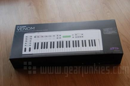 Unboxing the M-Audio Venom