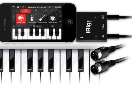 IK Multimedia announces iRIG MIDI