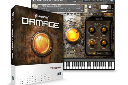 Native Instruments DAMAGE by Heavyocity Announced
