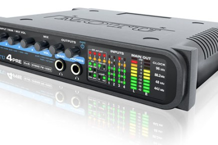 MOTU 4Pre Hybrid 6X8 Audio Interface Introduced