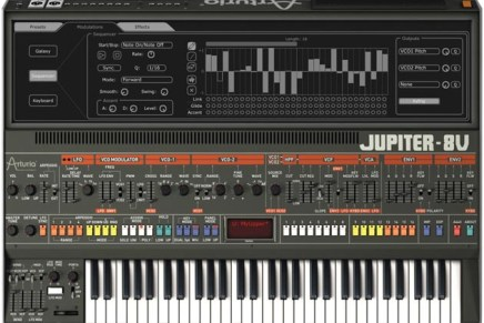 Arturia releases Jupiter-8V version 2.5