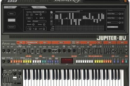 Arturia releases Jupiter-8V version 2.5