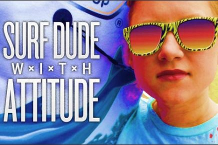 Elektron Spotlight on Surf Dude With Attitude