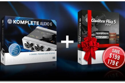 Get Guitar Rig 5 Pro for free with NI Komplete Audio 6