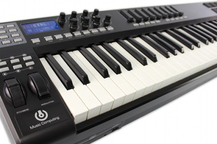Music Computing Releases ControlBLADE ES keyboard