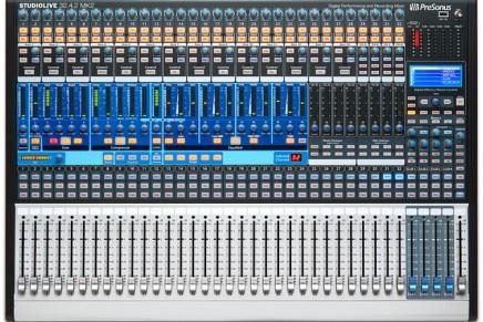 PreSonus StudioLive AI-Series Digital Mixers with Active Integration Announced