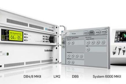 TC Electronic updates Hardware Loudness Radar Meters