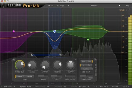 FabFilter Pro-MB Multiband Compressor – Gearjunkies Review
