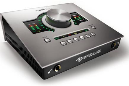 Universal Audio Apollo TWIN Thunderbolt – Video Overview