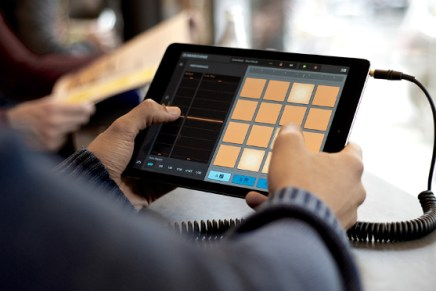 Native Instruments iMASCHINE update optimized for iPad