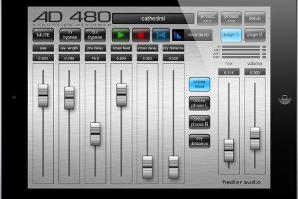 Fiedler Audio released update for the AD 480 family