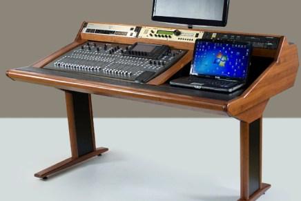 ZAORs MAREA studio furniture for new-gen mixing consoles