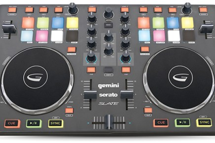 Gemini re-introduces the Slate 4 Serato DJ Into controller