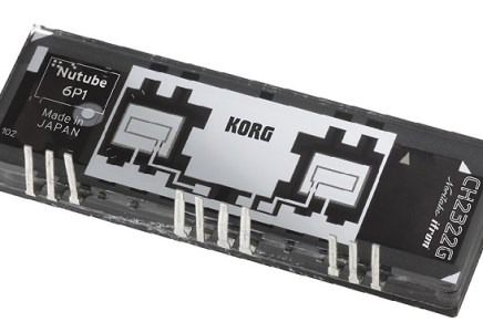 Korg and Noritake Release Innovative Vacuum Tube the Nutube