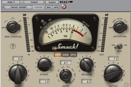 Digidesign has announced Smack!