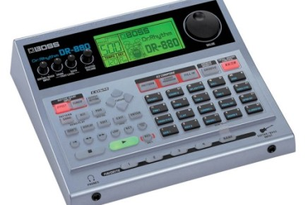 Boss ships the DR-880 drummachine
