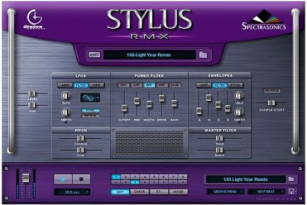 Spectrasonics is shipping the new Stylus RMX