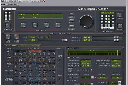 Eventide announced shipment of Anthology plug-ins bundle