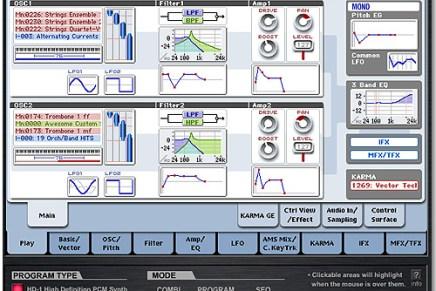KORG offers virtual OASYS Interface