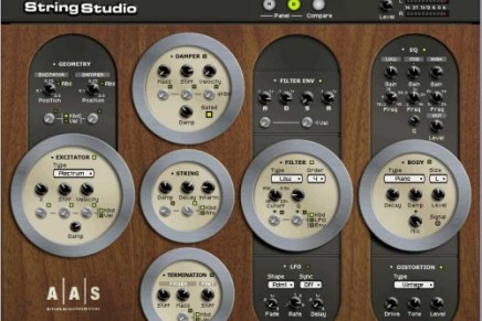 Applied acoustics Stringstudio now shipping
