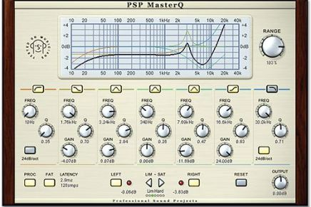 PSP Audioware updates MasterQ (Mac OSx version)
