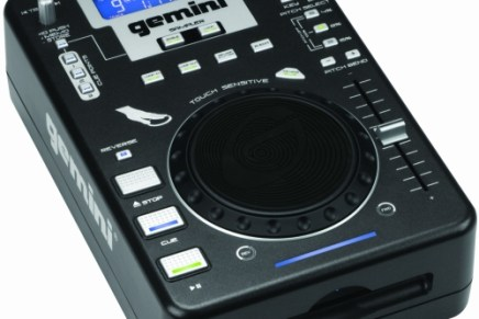 Gemini announces new slot loading CD player