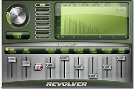 New products from McDSP – Revolver and Project Studio
