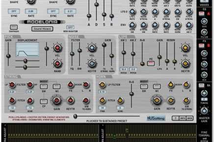 Nusofting releases Modelonia Synth