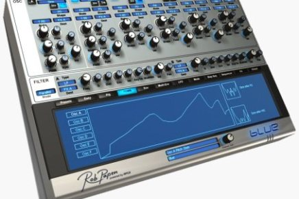 Rob Papen releases Blue update v.1.1.