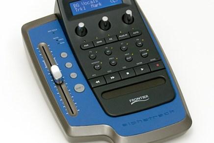 Frontier announces Alphatrack DAW controller