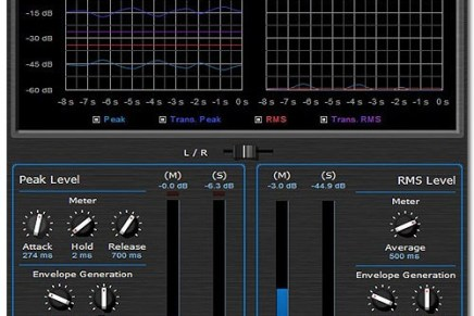 Blue Cat Audio Widening Meter Pro 1.0 released