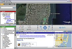 Globe Glider Google Maps in Google Earth