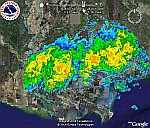 National Weather Service/NOAA Radar Loops in Google Earth