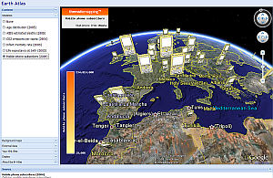 Earth Atlas in Google Earth