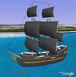 Black Pearl in Google Earth