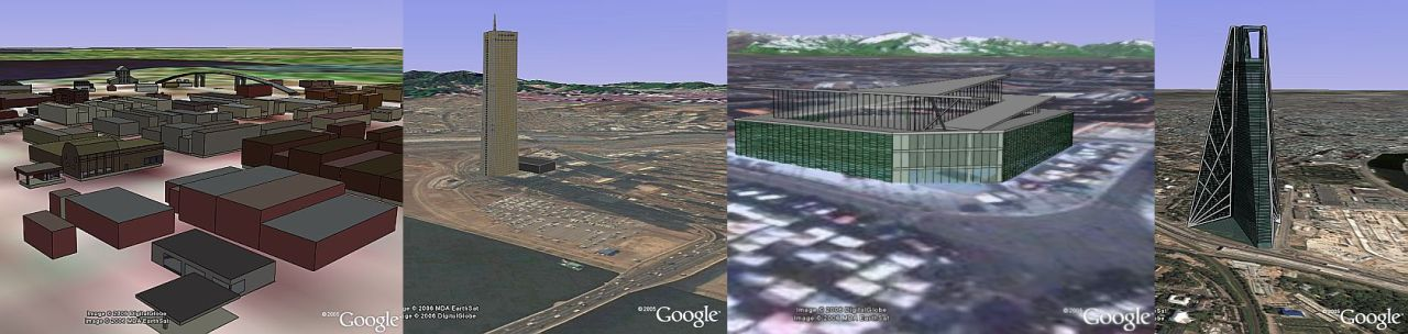 More 3D buildings in Google Earth
