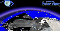 AntArctic Ice FloesSatellite Photos in Google Earth