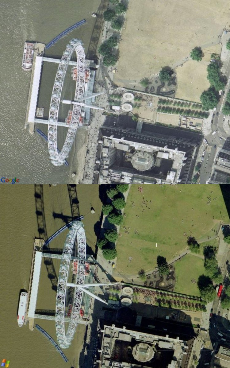 Comparing Windows Live Local to Google Maps in UK