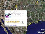 iCommunity.TV youtube news in Google Earth