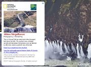 Victoria Falls in Google Earth