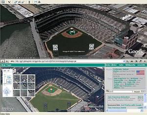 Globe Glider Virtual Earth in Google Earth