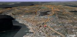 Google Transit in Google Earth