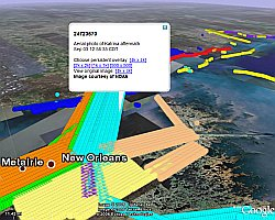 Hurricane Katrina Imagery in Google Earth