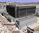 Las Vegas in Google Earth