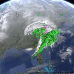 Tracking Winter Storm Euclid with Google Earth