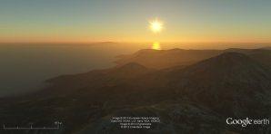 gearth_sunset
