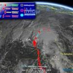 Track Hurricane Ida in Google Earth
