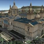 Amazing 3D model of the Museu Nacional d'Art de Catalunya in Barcelona